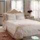"""Покрывало розовое в наборе""""Damaris"""" от Tivolyo Home"""