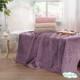 """Покрывало махровое хлопковое """"ELIPS"""" от Tivolyo Home фиолетовое"""
