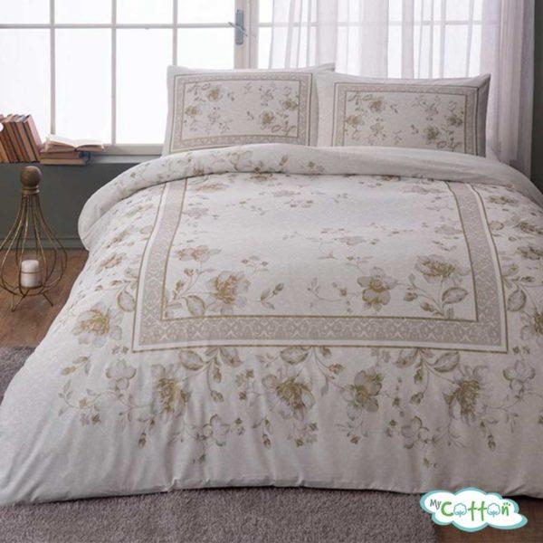 Комплект постельного белья TAC, GLORY бежевый