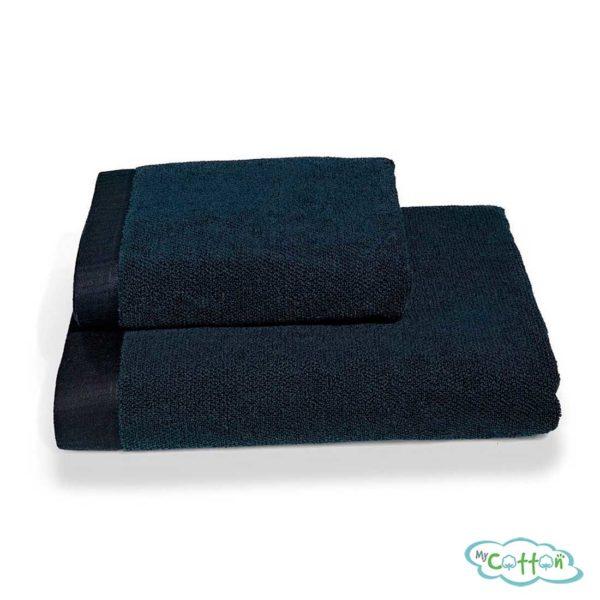 Полотенце махровое Soft Cotton синее LORD
