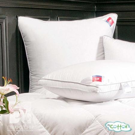 """Подушка """"Лоретта"""" от компании Легкие сны, мягкая, пух категории Экстра"""