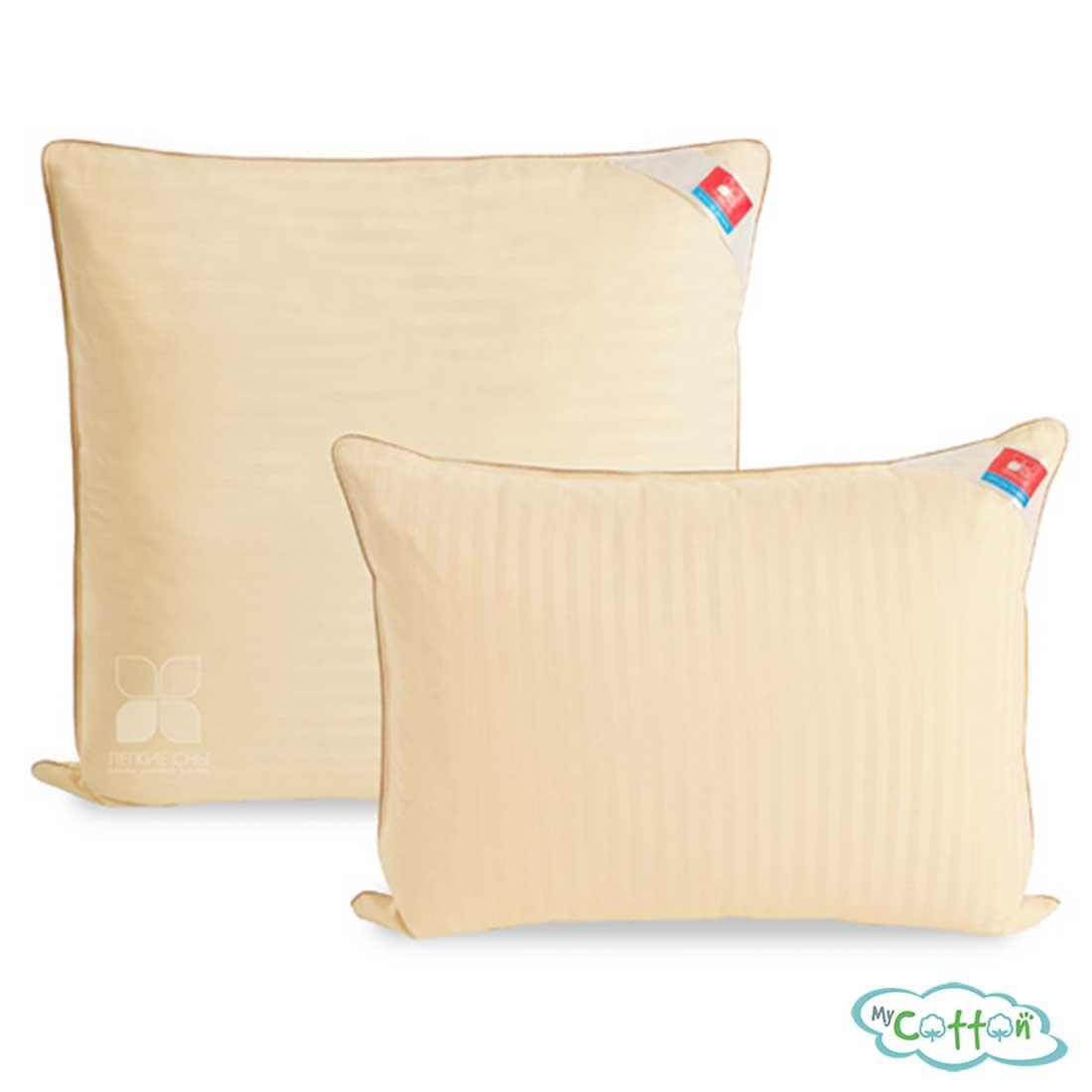 """Подушка """"Мечта"""" от компании Легкие сны, упругая, пух 2-ой категории"""