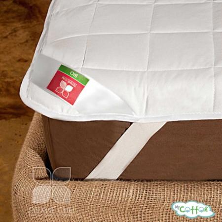 Наматрасник стеганый Легкие сны «Бамбук» с резинкой по углам