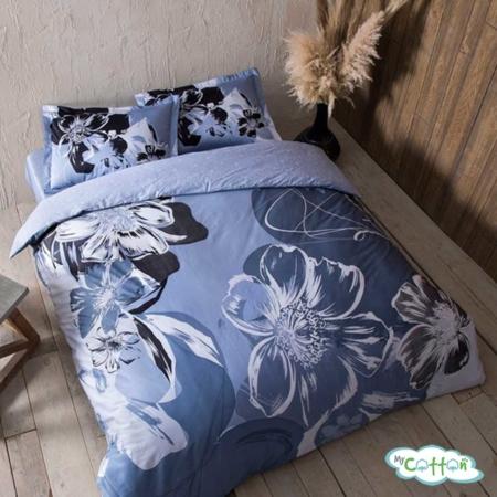 Комплект постельного белья TAC, SERAH голубой