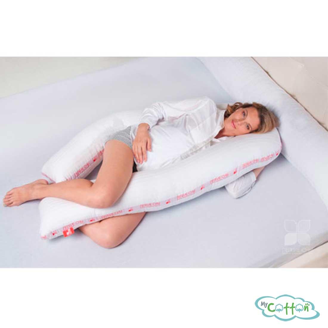 """Подушка для беременных """"Премиум U"""" от компании Легкие сны"""