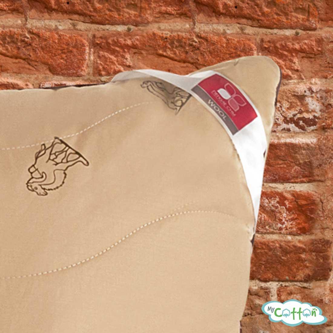 """Подушка """"Верби"""" от компании Легкие сны, средней жесткости"""