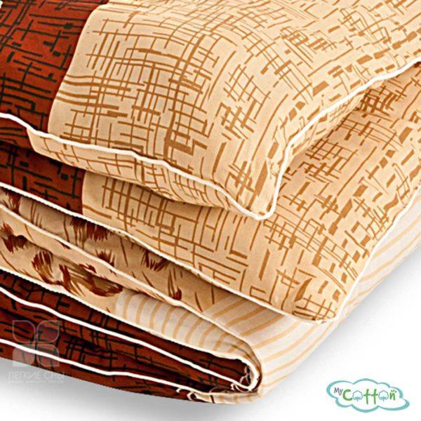 """Одеяло стеганое """"Золотое руно"""" от компании Легкие сны, теплое"""