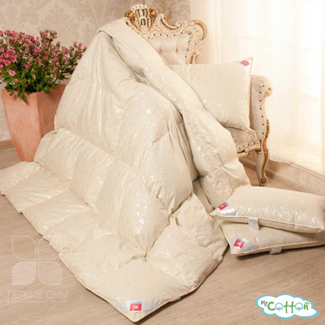 """Десткое одеяло касетное """"Камелия"""" от компании Легкие сны, теплое"""