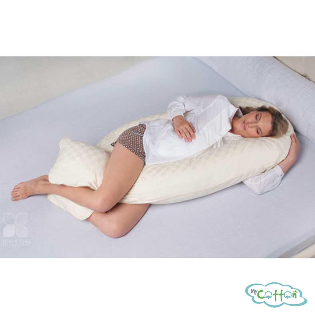 """Подушка для беременных """"Классика U"""" от компании Легкие сны"""