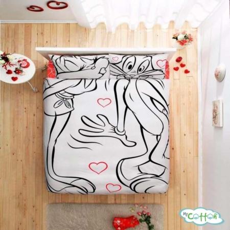 Комплект постельного белья TAC, BUGS BUNNY&LOLA