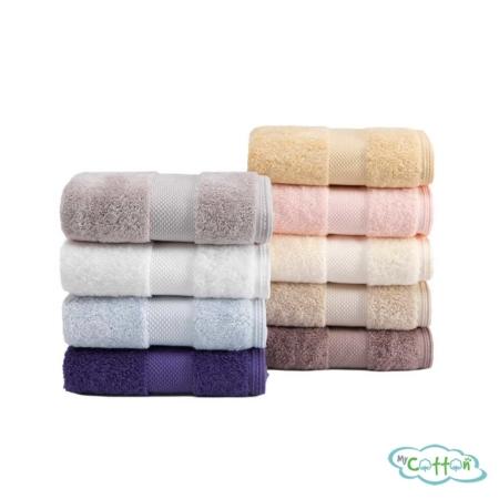 Полотенце махровое Soft Cotton экрю DELUXE-