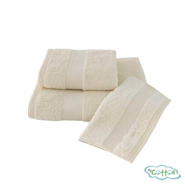 Полотенце махровое Soft Cotton экрю DELUXE