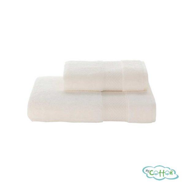 Полотенце махровое Soft Cotton экрю ELEGANCE