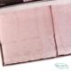 Набор махровых полотенец Tivolyo Home пудровый OLIVIA