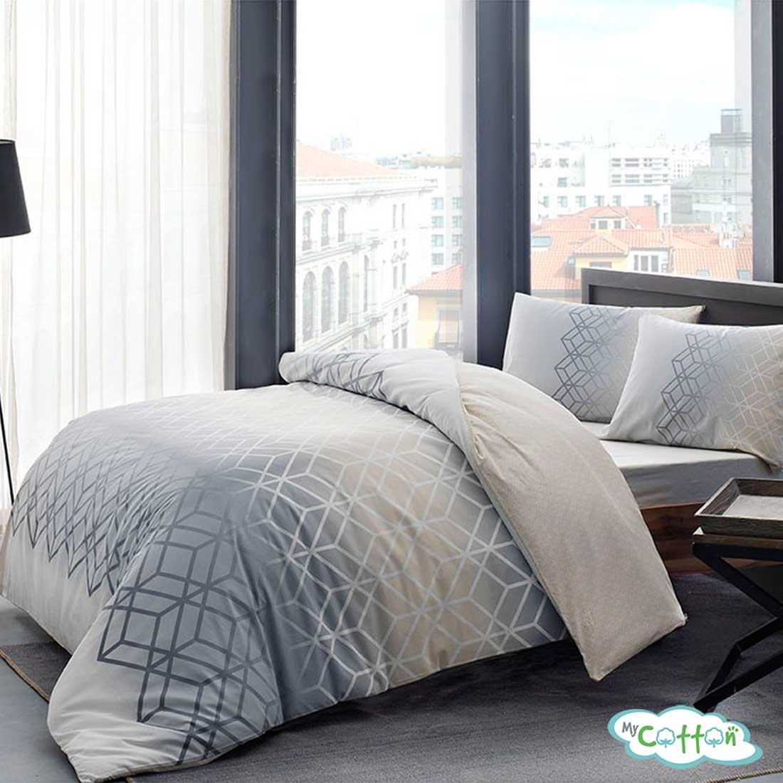 Комплект постельного белья TAC, PLAY серый