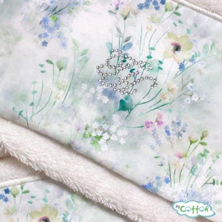 Набор махровых полотенец Tivolyo Home белые POLINA/