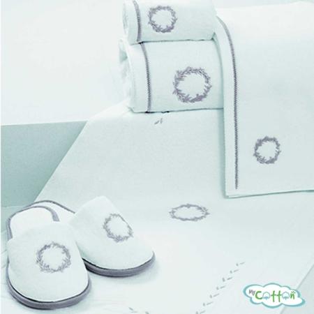 Полотенце махровое Soft Cotton кремовоеSEHZADE
