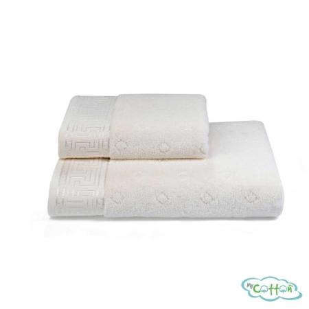 Полотенце махровое Soft Cotton кремовое VERA