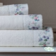 Полотенце махровое Tivolyo Home белое VERSAILES-