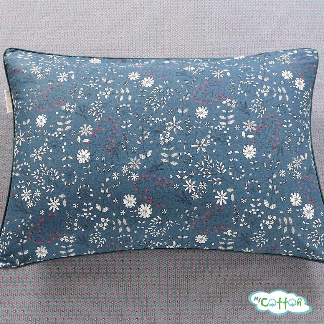 Постельное белье из сатина Элла цвет синий5