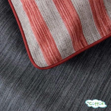 Постельное белье из сатина Эйдан цвет розовый3
