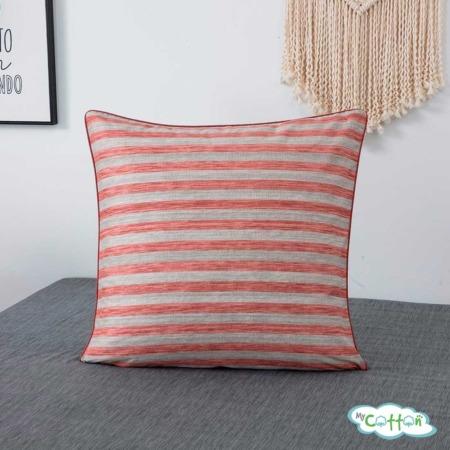 Постельное белье из сатина Эйдан цвет розовый5