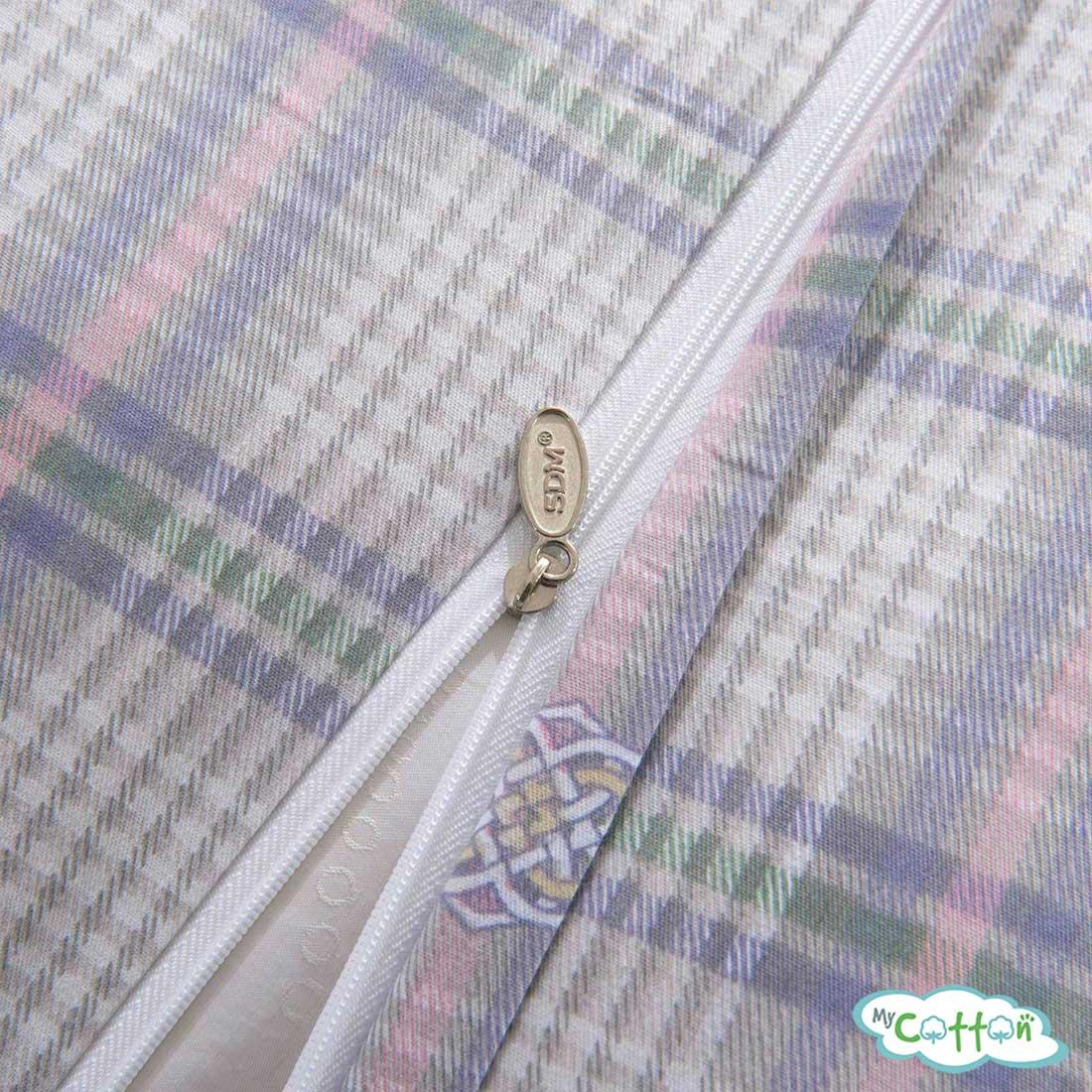 Постельное белье из сатина Шотландия3