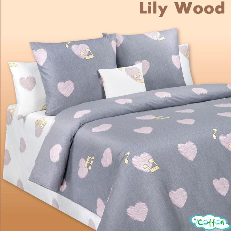 Постельное белье сатин Lily Wood (Лили Вуд)
