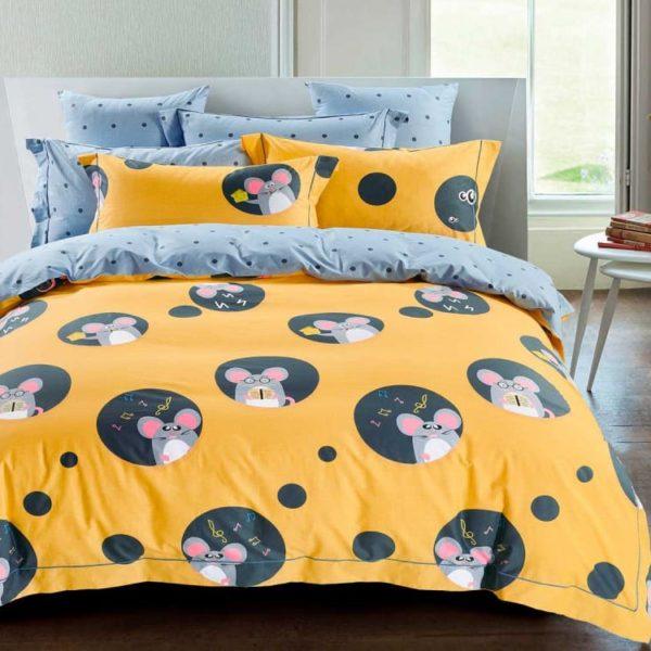 Купить постельное белье сатин 1345 в нашем интернет магазине MyCotton.ru и другу продукцию компании Asabella (Асабелла)