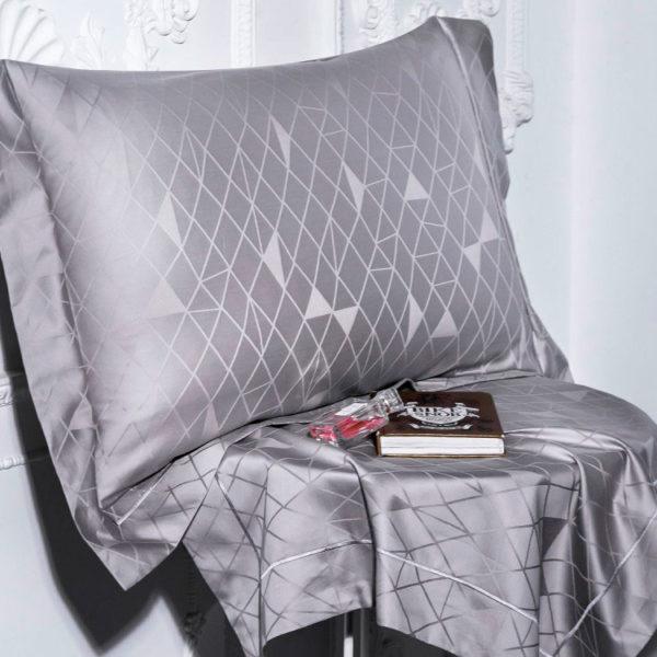 Купить постельное белье сатин жаккард 1385. Бесплатная доставка. 2