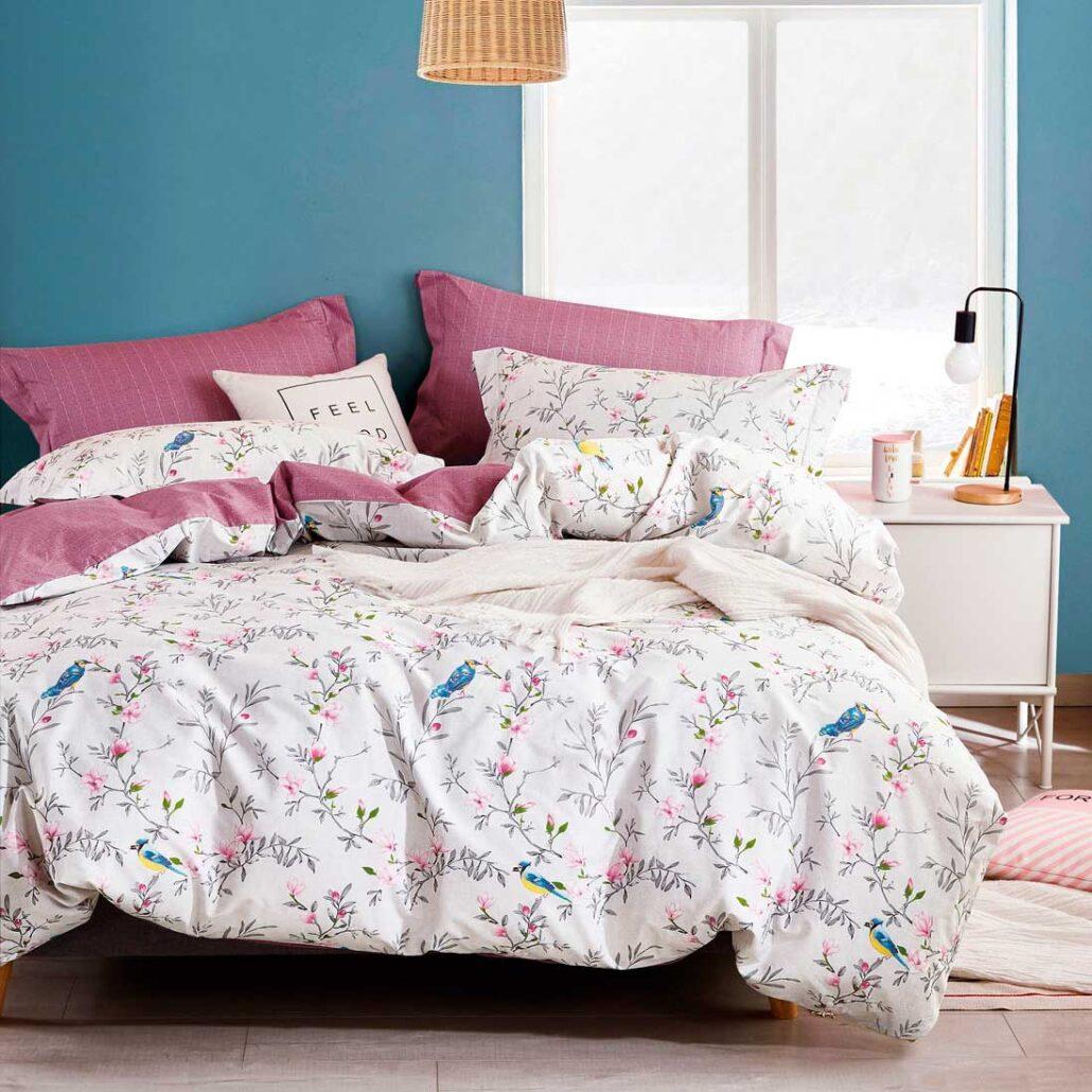 Купить постельное белье сатин 1496 с бесплатной доставкой