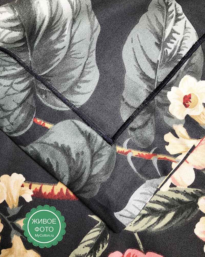 Постельное белье люкс-сатин 1640 Asabella купить в Москве