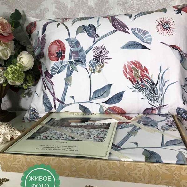 Постельное белье люкс-сатин 1520 Asabella купить в Москве