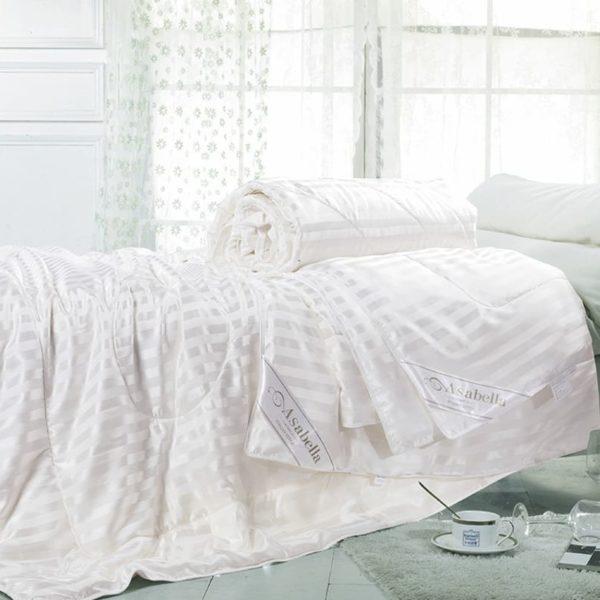 Одеяло шёлковое в шёлке Asabella всесезонное 100% шелк