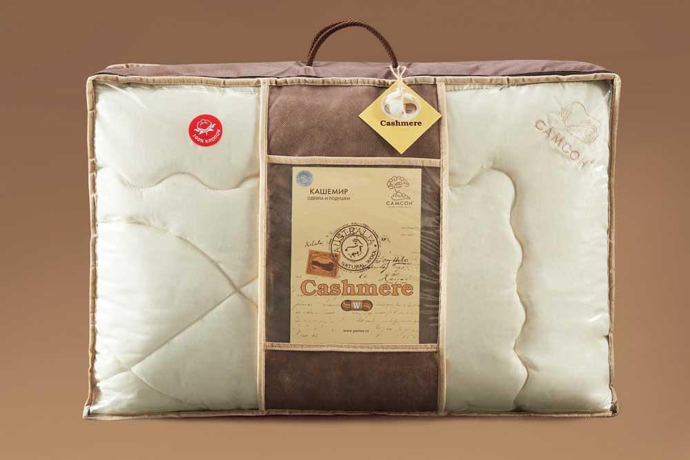 Образец упаковки одеяло кашемир САМСОН купить в Москве MyCotton.ru 2