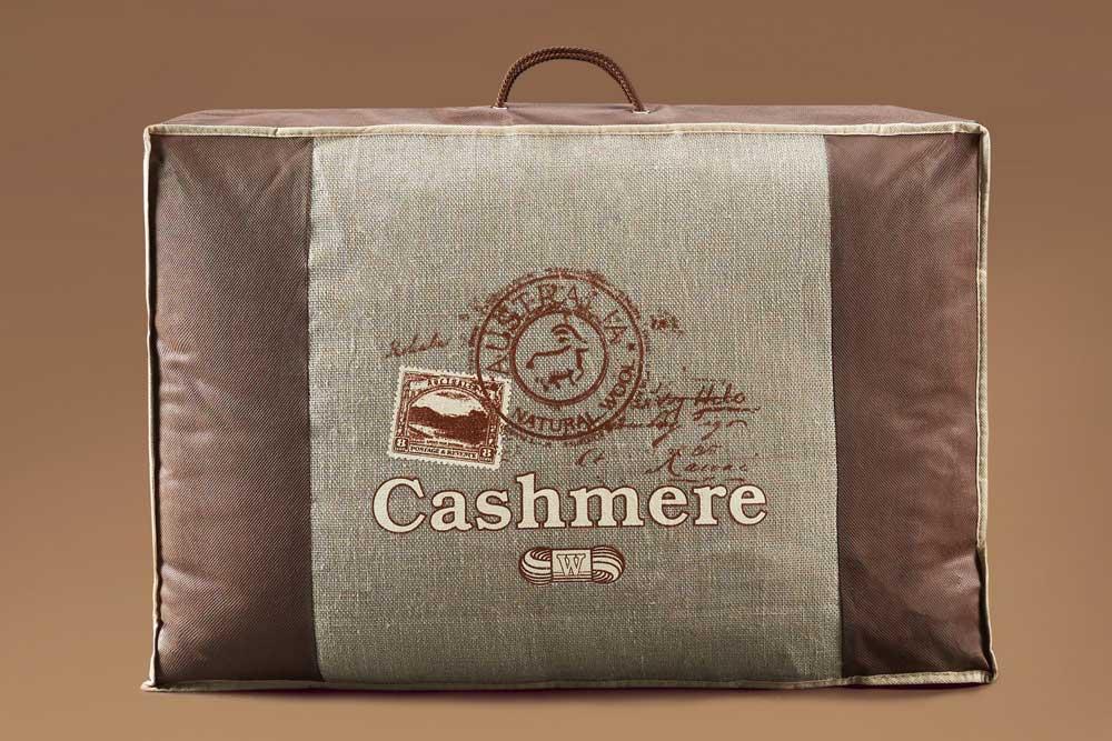 Образец упаковки одеяло кашемир САМСОН купить в Москве MyCotton.ru